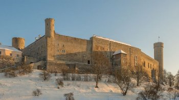 Toompea Castle, built by King Valdemar II