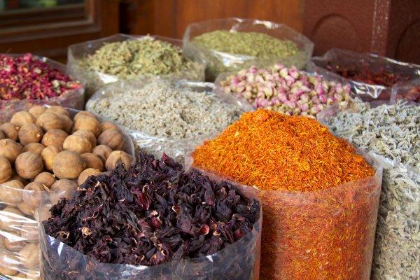 A spice market in Dubai
