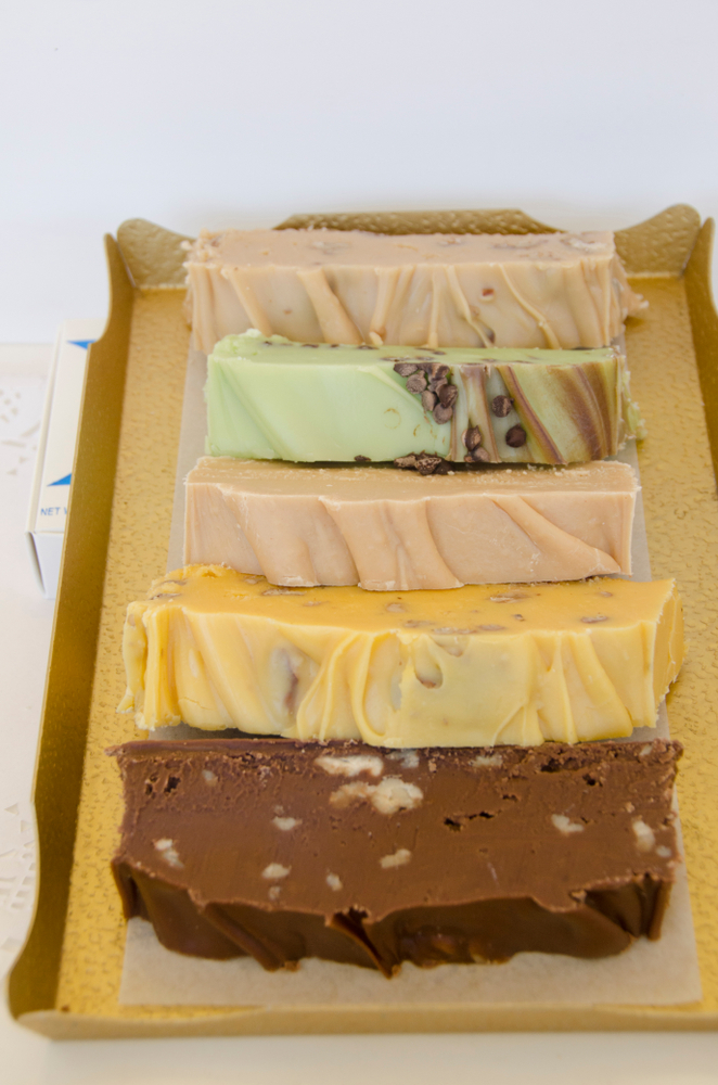Assortment of Michigan-Made Fudge