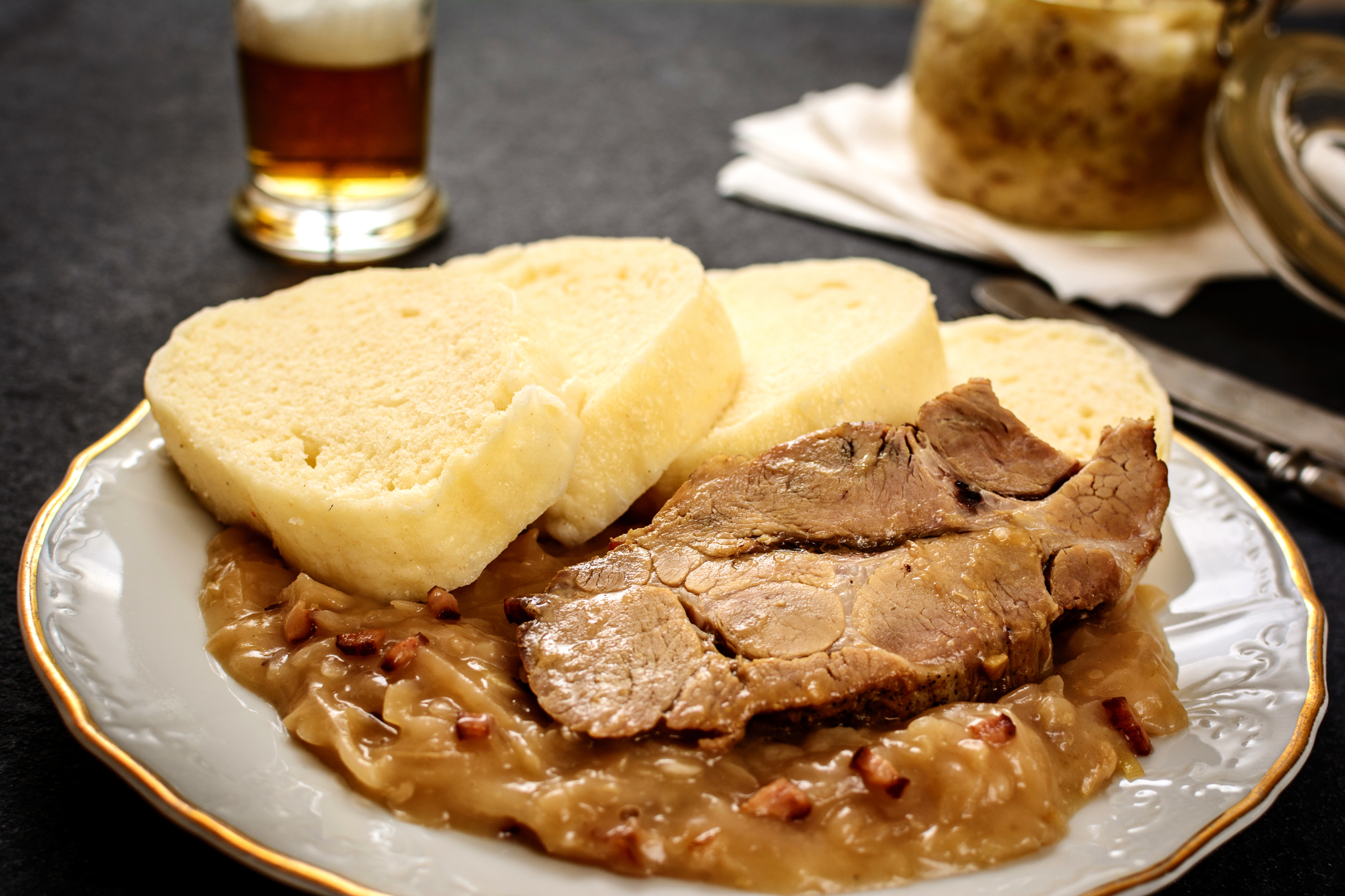 Veprova Pecene (Roasted Pork)
