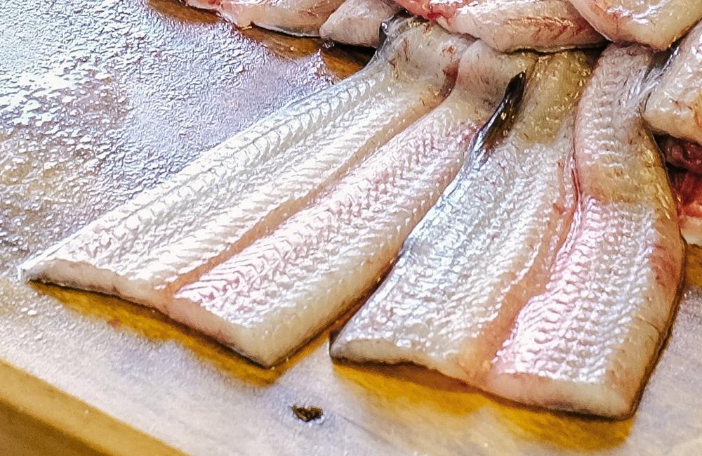 Cut eel