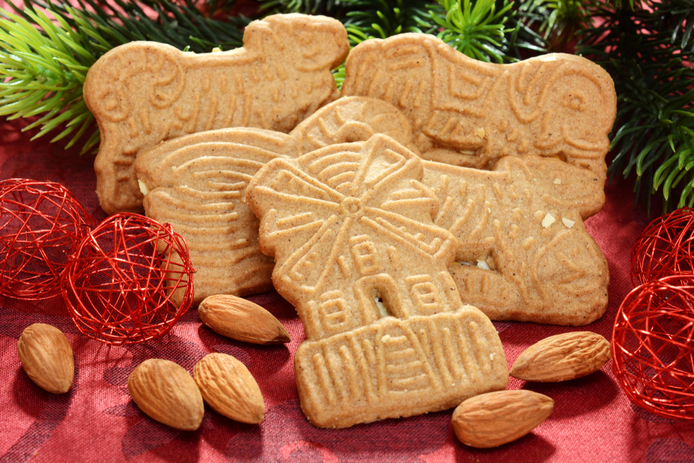 Dutch Windmill Cookies Made with a Cookie Cutter