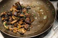 Wild Mushroom Sauté