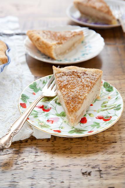 Sugar Cream Pie (Sugar Pie, Indiana Cream Pie, Hoosier Pie)