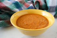 Shorabit Jarjir (Butternut Squash and Red Lentil Soup)