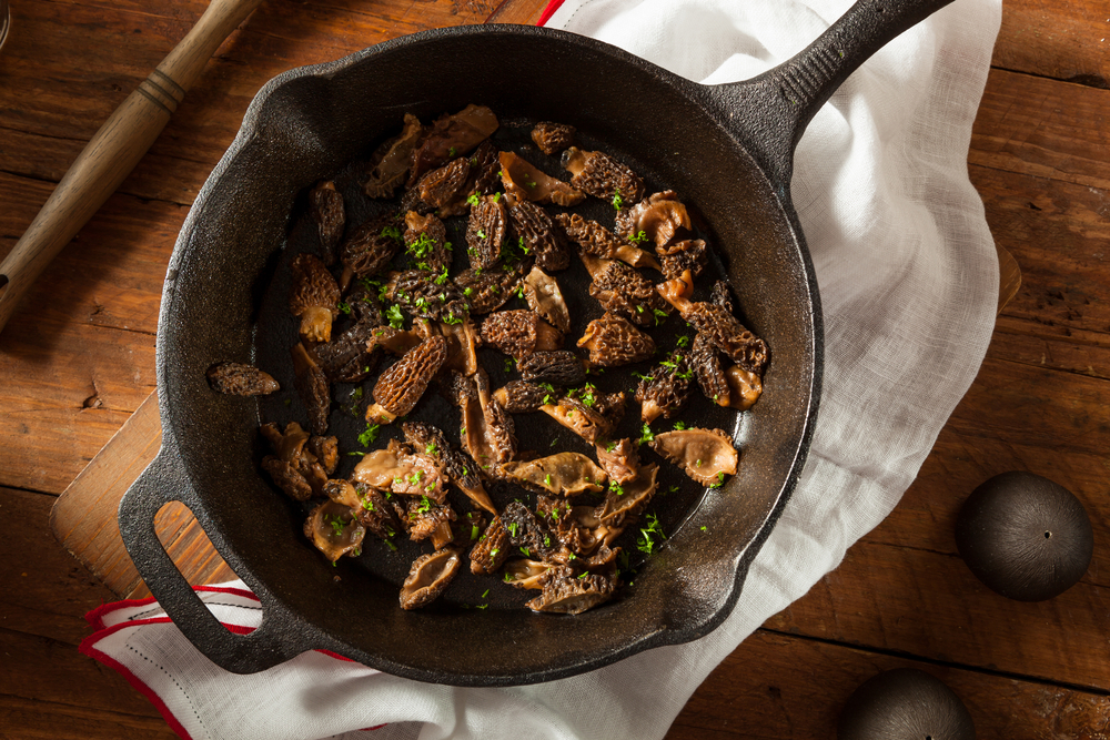 Sautéed Morel Mushrooms