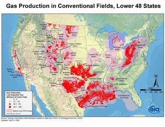 Gas Production in Conventional Fields