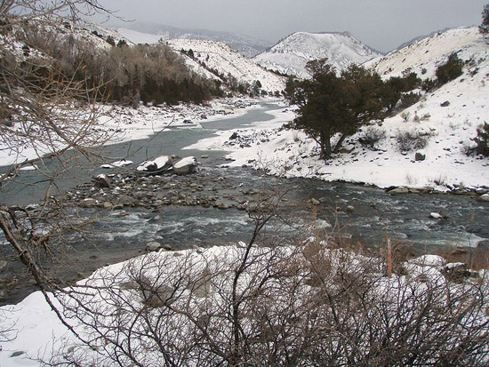 Early Winter at Yellowstone National Park