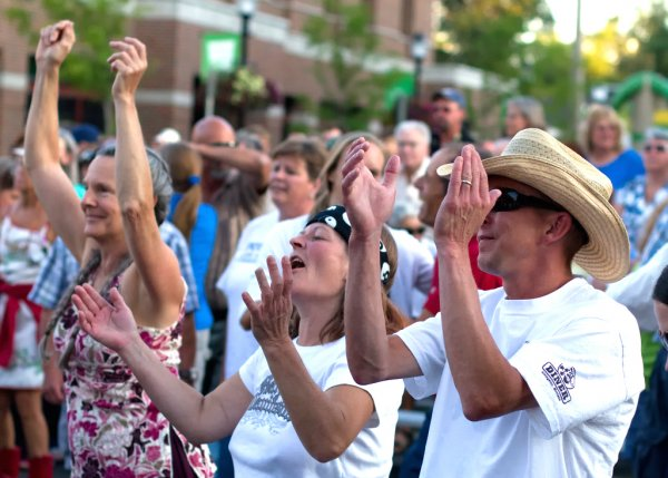 Music Festival In Downtown Bozeman