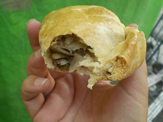 Meat-Filled Pasty