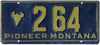 License Plate 3802