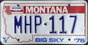 License Plate 4384