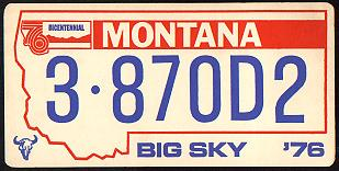License Plate 10348