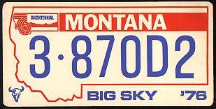 License Plate 10348