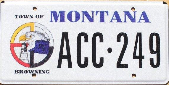 License Plate 9918