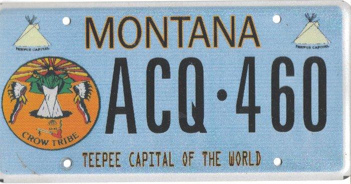 License Plate 9834