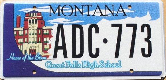 License Plate 10350