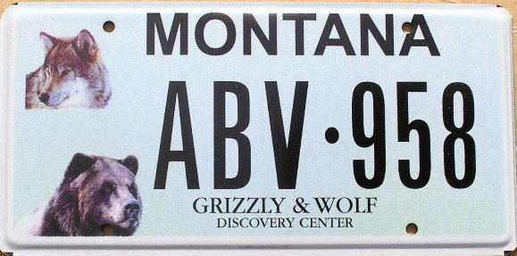 License Plate 10273