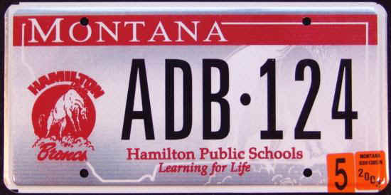 License Plate 9701