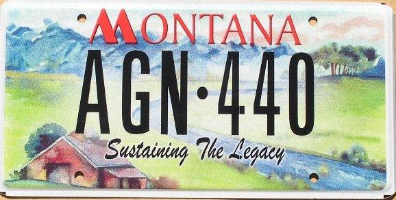 License Plate 9921