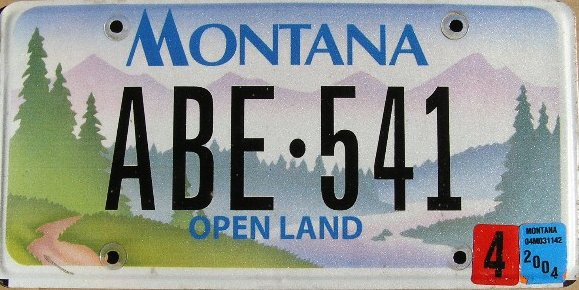 License Plate 10274