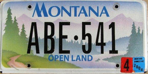 License Plate 10274