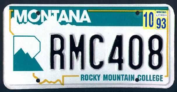 License Plate 9835