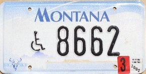 License Plate 1594