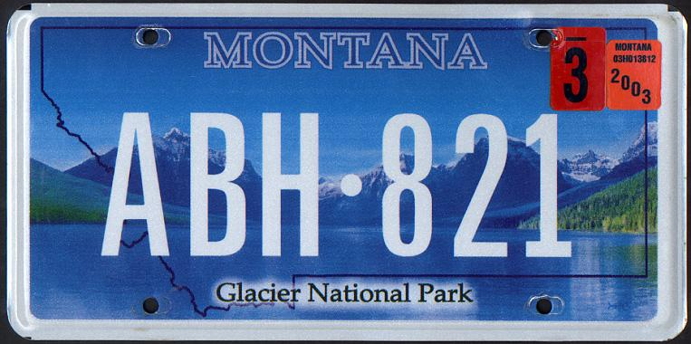 License Plate 1268
