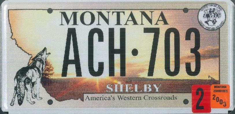License Plate 1269