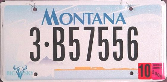 License Plate 679