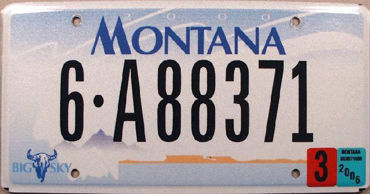 License Plate 13381