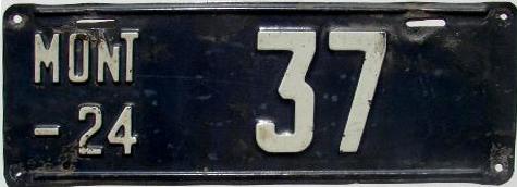 License Plate 18472