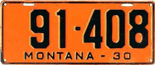 License Plate 18681