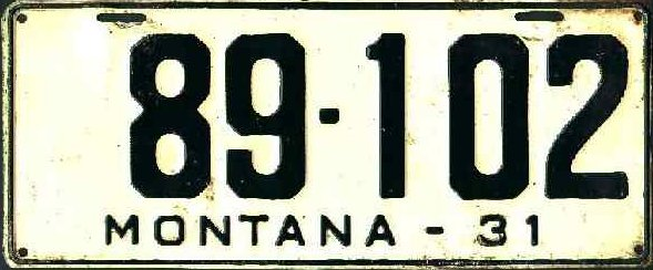 License Plate 18724