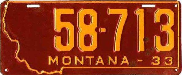 License Plate 18137