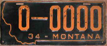 License Plate 18186