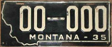 License Plate 18233
