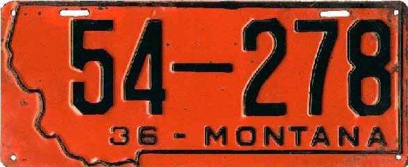 License Plate 18282