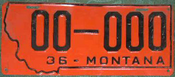 License Plate 18283