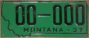 License Plate 18334