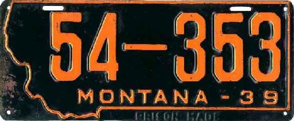 License Plate 17751