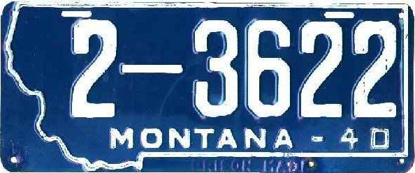 License Plate 17799