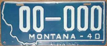 License Plate 17800