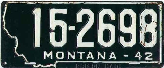 License Plate 17911