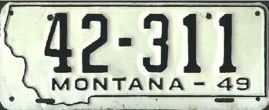 License Plate 17614