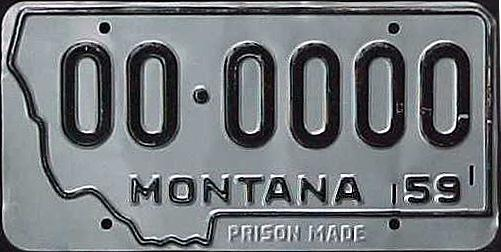 License Plate 16901