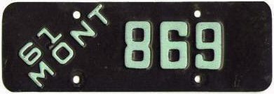 License Plate 16379