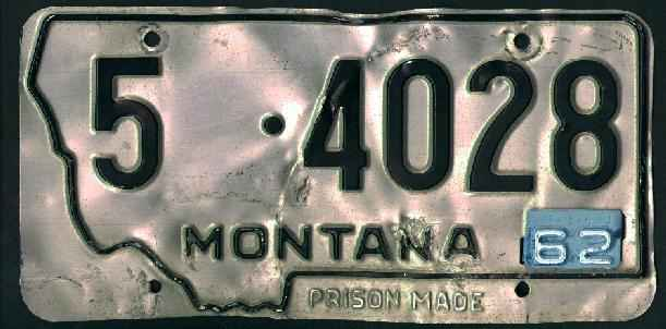 License Plate 16451