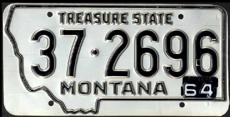 License Plate 16598